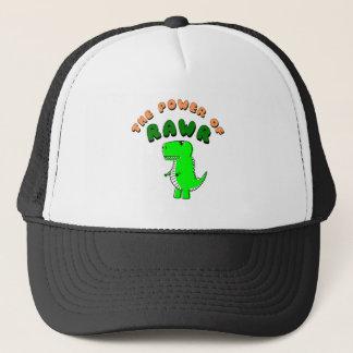 Boné T-Rex o poder de RAWR