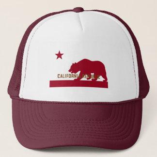Boné T-shirt da bandeira de Califórnia - variação de
