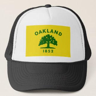Boné T-shirt da bandeira de Oakland