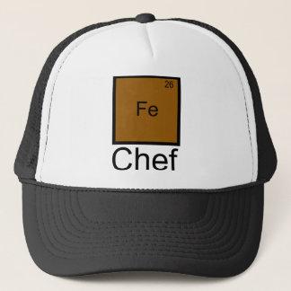 Boné T-shirt da chalaça do elemento do cozinheiro chefe
