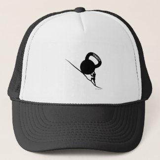 Boné T-shirt da tenacidade de Sisyphus Kettlebell