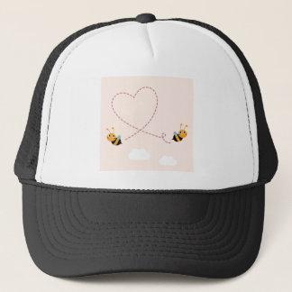 Boné T-shirt dos DESENHISTAS com abelhas do amor