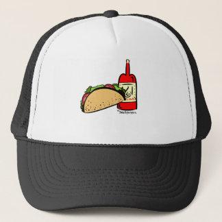 Boné Taco terça-feira & teste padrão do design do molho