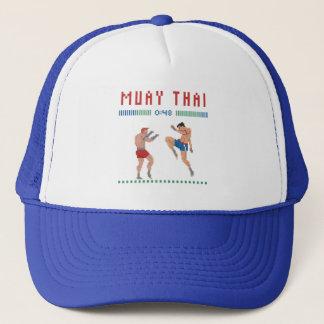 Boné Tailandês de Muay do pixel