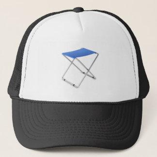 Boné Tamborete de dobramento azul