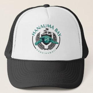 Boné Tartarugas na baía Oahu Havaí de Hanauma