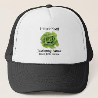 Boné Tassinong cultiva o chapéu principal da alface