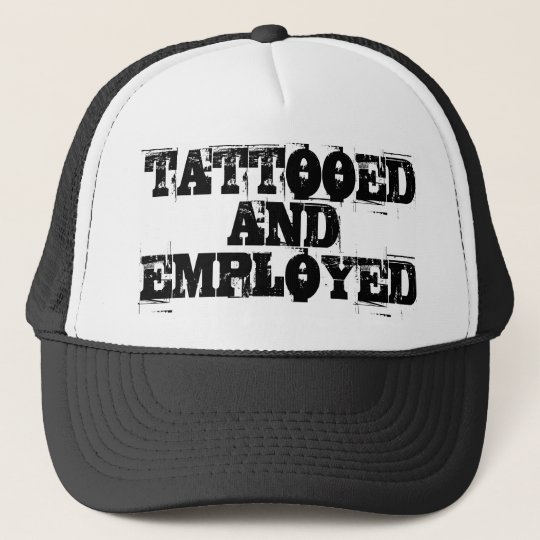 BONÉ TATTOOED AND EMPLOYED CAP
