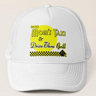 Boné Táxi das mães e Movimentação-Através da grade