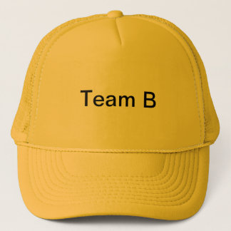 Boné Team o chapéu *Limited B do pai da equipe B de