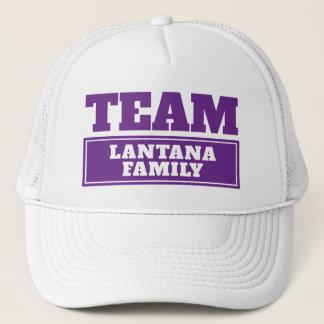 Boné Team o nome personalizado roxo da equipe ou o nome