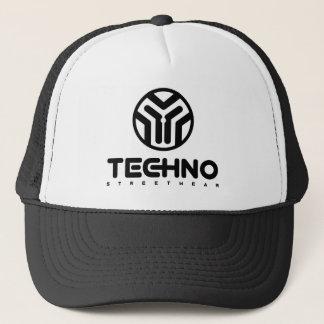 Boné Techno Streetwear - logotipo - chapéu