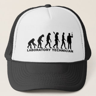 Boné Técnico de laboratório da evolução
