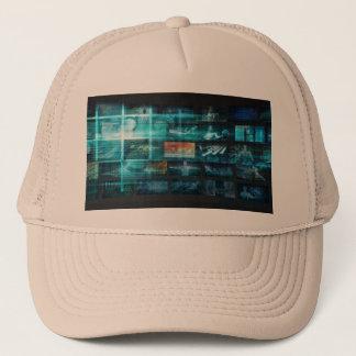 Boné Tecnologia da informação ou ELE Infotech como uma