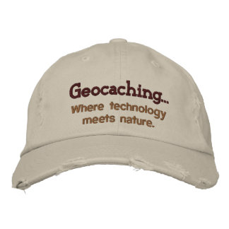 Boné Tecnologia de Geocaching+Chapéu bordado natureza