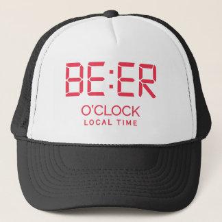 Boné Tempo local da hora da cerveja