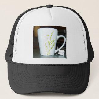 Boné Tenha um chá de O do copo!