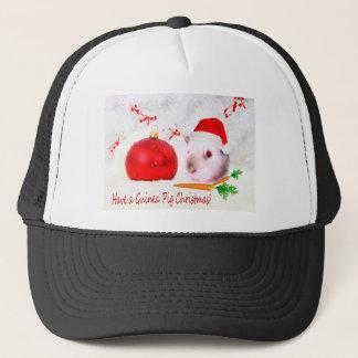 Boné Tenha um Natal da cobaia