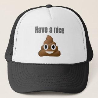 Boné Tenha um tombadilho-emoji agradável - design dos