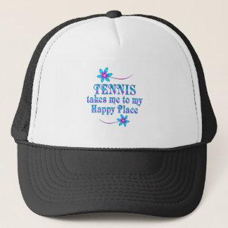 Boné Tênis meu lugar feliz