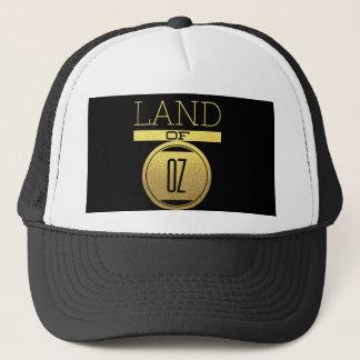 Boné Terra do chapéu do camionista da onça