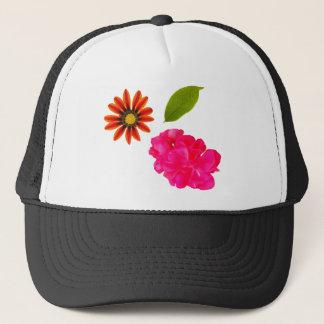 Boné Teste padrão de flores