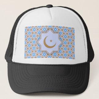 Boné teste padrão geométrico islâmico
