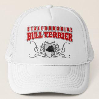 Boné Texto do vermelho do COA de Staffordshire bull
