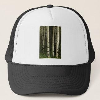 Boné Textura de um retrato da floresta