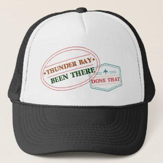 Boné Thunder Bay feito lá isso