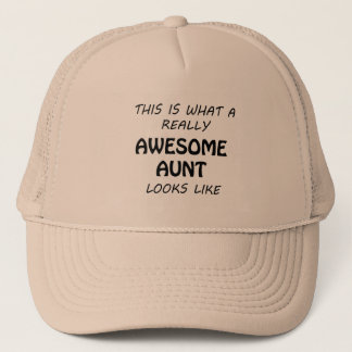 Boné Tia impressionante