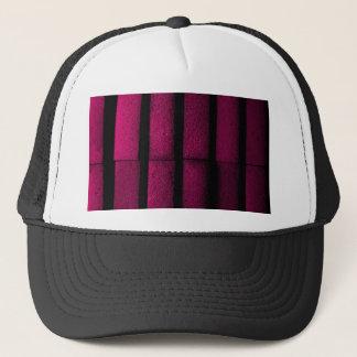 Boné Tijolos roxos