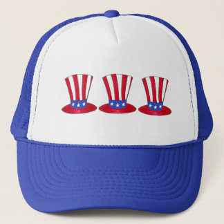 Boné Tio Sam chapéu patriótico da bandeira americana