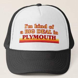 Boné Tipo de I´m de uma grande coisa em Plymouth