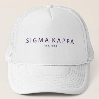 Boné Tipo moderno do Kappa do Sigma