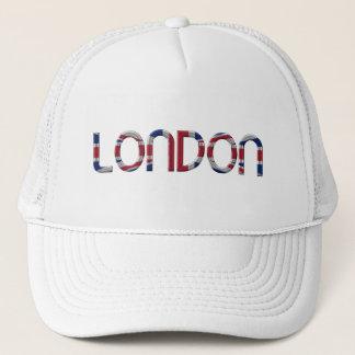 Boné Tipografia britânica da bandeira de Londres Union
