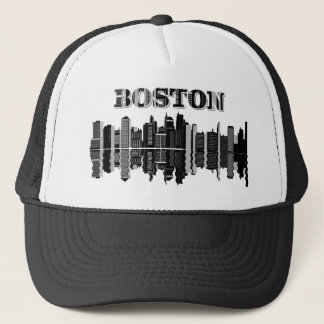 Boné Tipografia da skyline de Boston