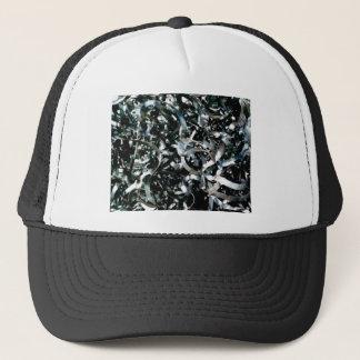 Boné tiras do metal do lixo