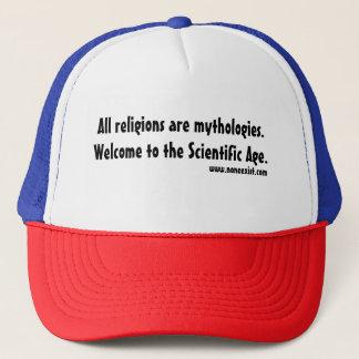 Boné Todas as religiões são mythologies.