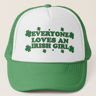 Boné Todos ama um chapéu irlandês da menina