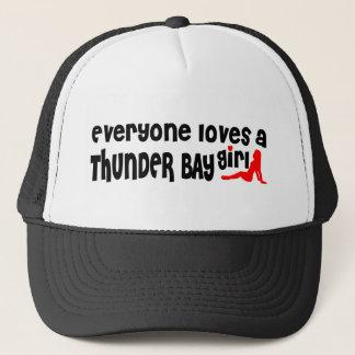 Boné Todos ama uma menina de Thunder Bay