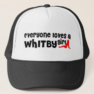 Boné Todos ama uma menina de Whitby