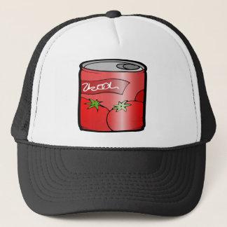 Boné tomate do suco da bebida da lata de bebida