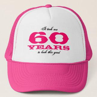 Boné Tomou-me 60 anos para olhar este bom chapéu