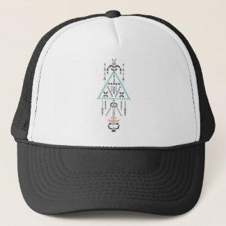 Boné Totem de Boho, símbolo étnico, Hippie, asteca,