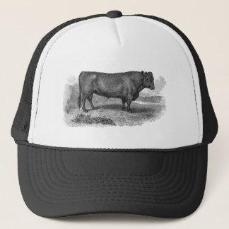 Boné Touros retros da vaca da ilustração de Bull dos