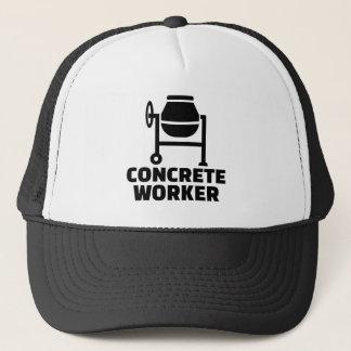 Boné Trabalhador concreto