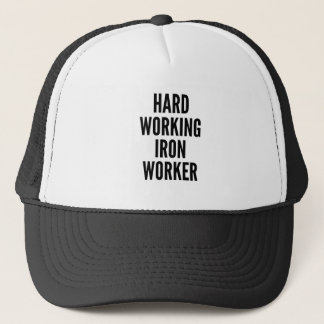 Boné Trabalhador de trabalho duro do ferro
