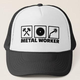 Boné Trabalhador do metal
