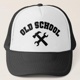 Boné Trabalhador manual da velha escola - o reparo Home